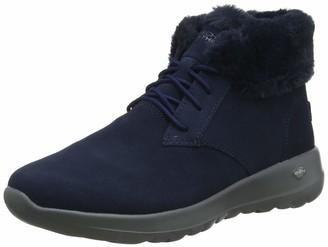 Skechers Women's ON-The-GO Joy Ankle Boots (Black Suede/Trim BBK) 3.5 (36.5 EU)