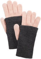 Steve Madden Ribbed Knit iTouch Gloves