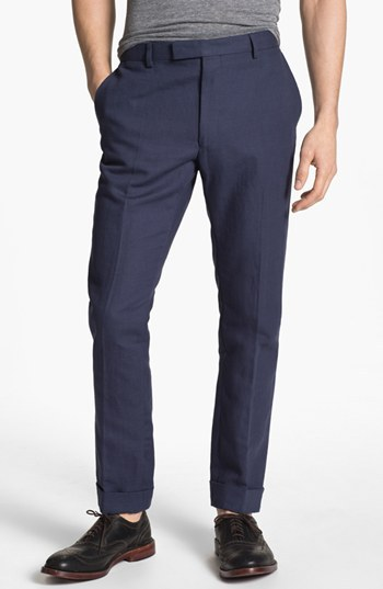 Gant 'Smarty' Slim Straight Leg Canvas Pants