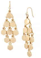Kenneth Cole New York Honeycomb Geometric Chandelier Earring