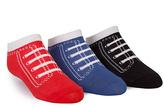 Trumpette Red Blue & Black Three-Pair Socks Set