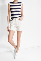Polo Ralph Lauren Striped Tank with Embossed Buttons