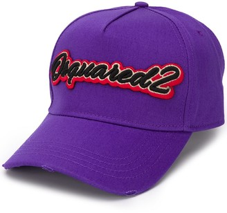 DSQUARED2 Logo-Embroidered Baseball Cap