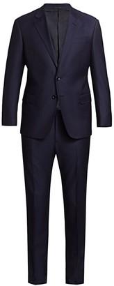 Giorgio Armani Pinstripe Virgin Wool Suit