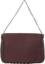 Paco Rabanne WOMEN'S 14#01 CHAIN MAIL LARGE SHOULDER BAG-BURGUNDY