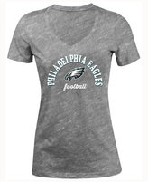 5th & Ocean Women's Philadelphia Eagles Checkdown LE T-Shirt