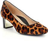 Nurture Bryatwo Leopard-Print Block Heel Pumps