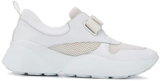 Emilio Pucci Bow Embellished Velcro Sneakers
