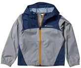 Columbia Kids Glennakertm Rain Jacket (Toddler Grey/Dark Mountain) Boy's Coat