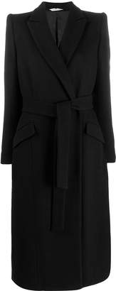 Tonello belted double-breasted coat