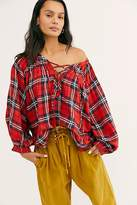 We The Free Cloudbreaker Plaid Tunic at Free People