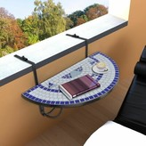 Wulfram Folding Balcony Table Charlton Home