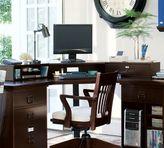 Pottery Barn Bedford Smart TechnologyTM; Corner Desk Hutch