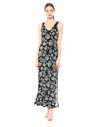 Karen Kane Women's V-Neck Maxi Dress
