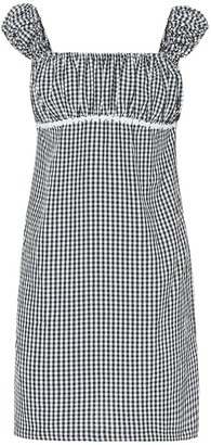 Solid & Striped Gingham minidress