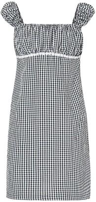 Solid & Striped Gingham minidress