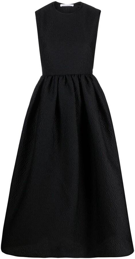 Cecilie Bahnsen Open-Back Midi Dress