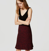 LOFT Vine Fluted Pencil Skirt