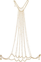 Rosantica Rosarietto Gold-tone Pearl Body Chain - one size
