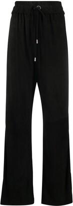 Manokhi Drawstring Straight Leg Sweatpants