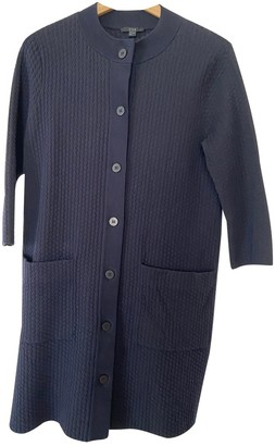 Cos Blue Cotton Jacket for Women
