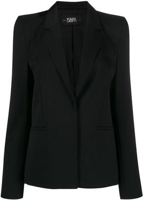 Karl Lagerfeld Paris x Carine power shoulder blazer