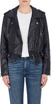 Blank NYC Blanknyc Women's Uninvited Faux-Leather Moto Jacket