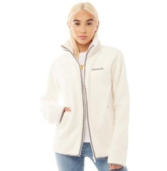 Bench Womens Edition Sherpa Fleece Jacket Cream