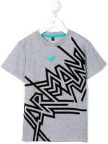 Armani Junior printed T-shirt