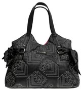 Metal Mulisha Women's Shine On Purse Handbag Black White