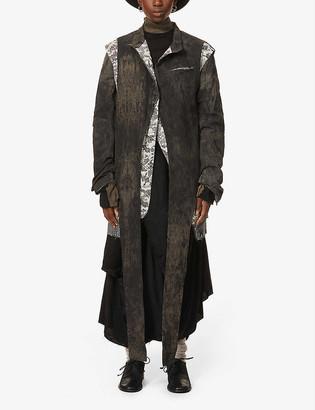 Vintage patchwork woven jacket