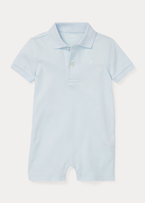 Ralph Lauren Cotton Interlock Polo Shortall
