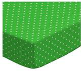 SheetWorld Extra Deep Fitted Portable / Mini Crib Sheet - Primary Pindots Woven - Made In USA