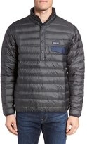 Patagonia Men's Water Repellent 600-Fill-Power Down Pullover Jacket