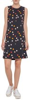 Akris Punto Women's Polka Dot Flutter Hem Dress
