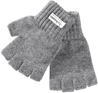 Le Bonnet Wool Knitted Fingerless Gloves