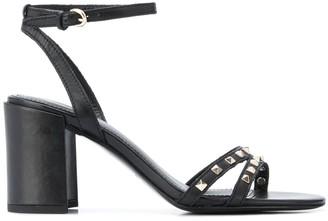 Ash Stud Embellished Heeled Sandals