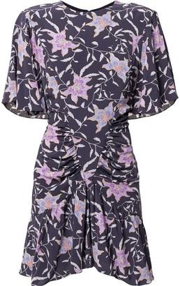Etoile Isabel Marant Floral Ruched Dress