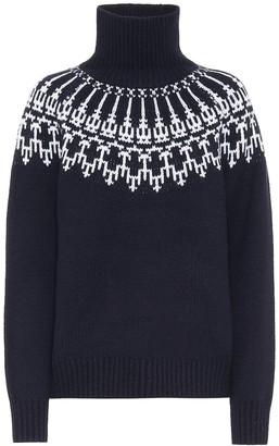 Tory Sport Merino wool turtleneck sweater