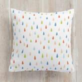 Minted Rain drops Square Pillow