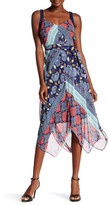 Robbie Bee Printed Midi Dress