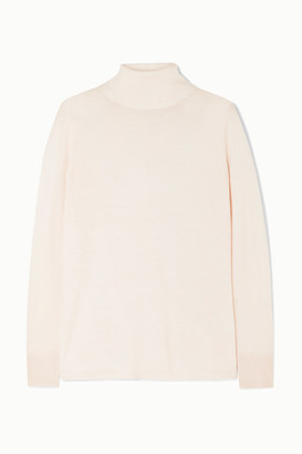L.F. Markey Joshua Wool Turtleneck Sweater - Cream