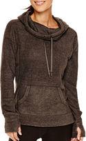 Xersion Long-Sleeve Cowlneck Fleece Pullover