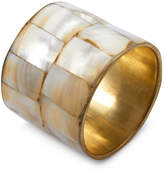 Sur La Table Mother-Of-Pearl Napkin Ring