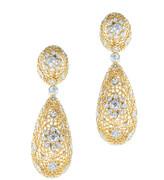 Jarin K Jewelry - Large Filigree Drop Earrings