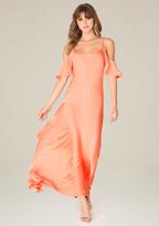 Bebe Petite Savanna Slip Gown