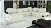 VIG 6104 - Modern Bonded Leather Sectional Sofa