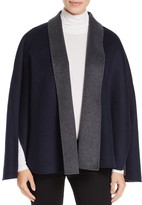 T Tahari Gabby Reversible Cape Coat