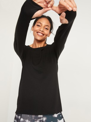 Old Navy Go-Warm Jersey Long-Sleeve Top for Women