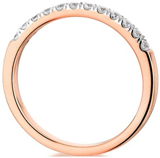 9ct Rose Gold 0.25ct Diamond micro setting eternity ring